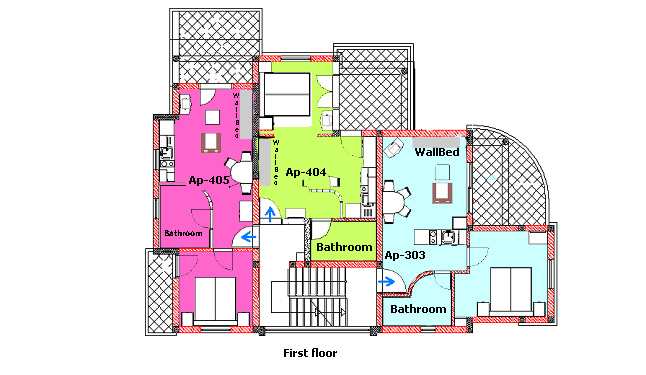 First floor copy colour