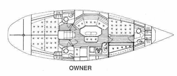 ELAN 431 MARO layout